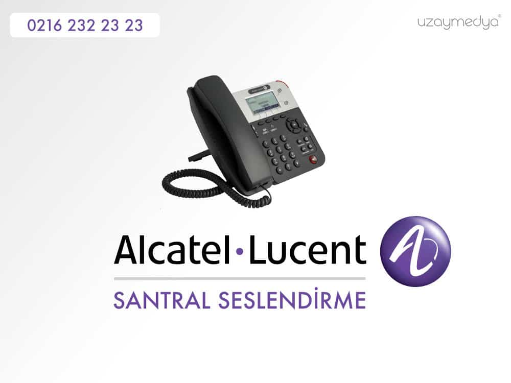 Photo of Alcatel Lucent Santral Seslendirme