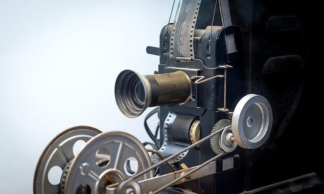 Eski projektör görseli