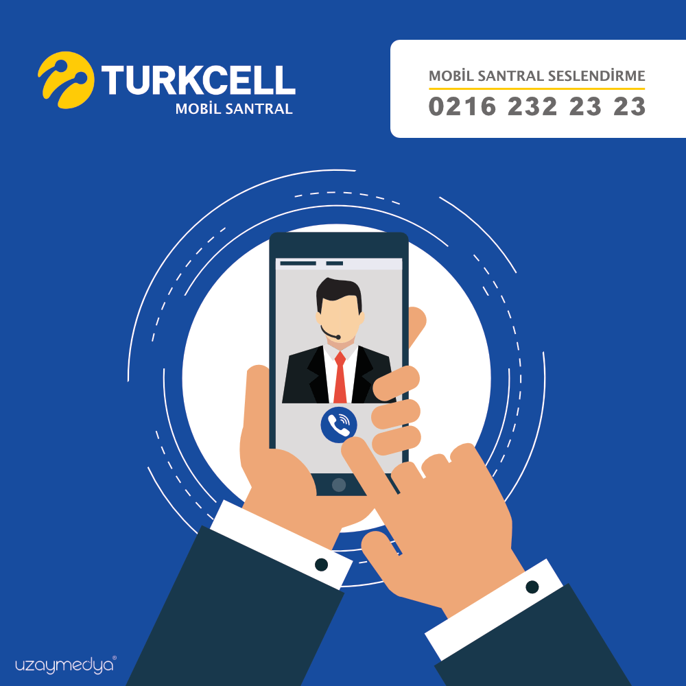 Photo of Turkcell Mobil Santral Seslendirme